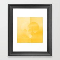 Danish Heart Gold #181 Happy Holidays! Framed Art Print