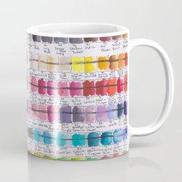 Artist Colour Palette Swatch Test Coffee Mug