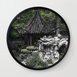 Colorless Shanghai1 Wall Clock