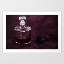 Blood Decanter Art Print