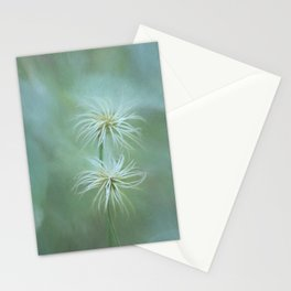 Will-o'-the-wisps In the Garden Stationery Cards