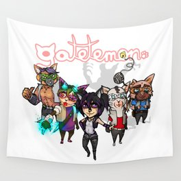 Gatetemon Band Wall Tapestry