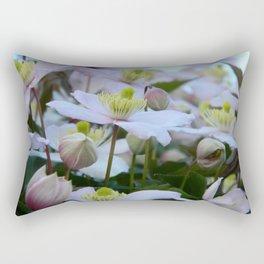 Clemantis Montana I2 Rectangular Pillow