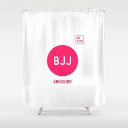 My Favorite Sport is Brazilian Jiu-Jitsu Fun BJJ MMA Shower Curtain