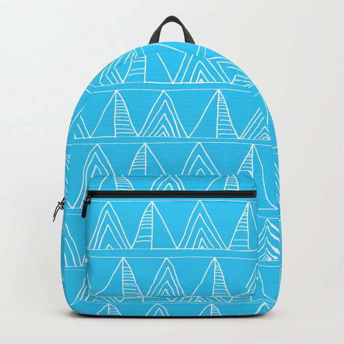 Triangles- Simple Triangle Pattern for hot summer days-Mix & Match Backpack