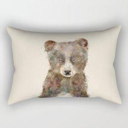 little brown bear Rectangular Pillow