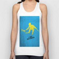 skateboard Tank Tops featuring skateboard  by Easyposters