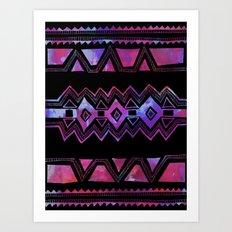 PATTERN {Tribal 001} Art Print