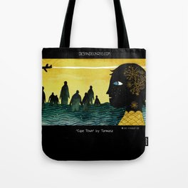 """Cape Town"" Illustration Tarmasz Tote Bag"
