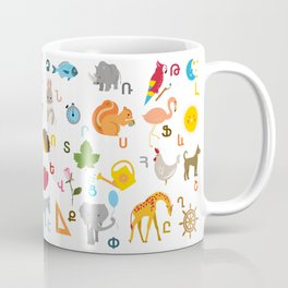 Armenian Alphabet Coffee Mug