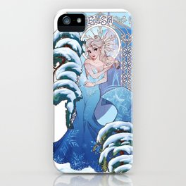 our hearts were singing iPhone Case