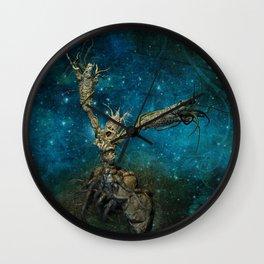Last frontier Wall Clock