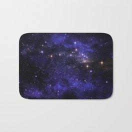 Stars and nebula Bath Mat