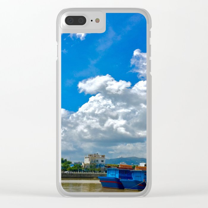 The River Bank Clear iPhone Case