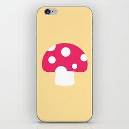 #55 Mushroom iPhone Skin