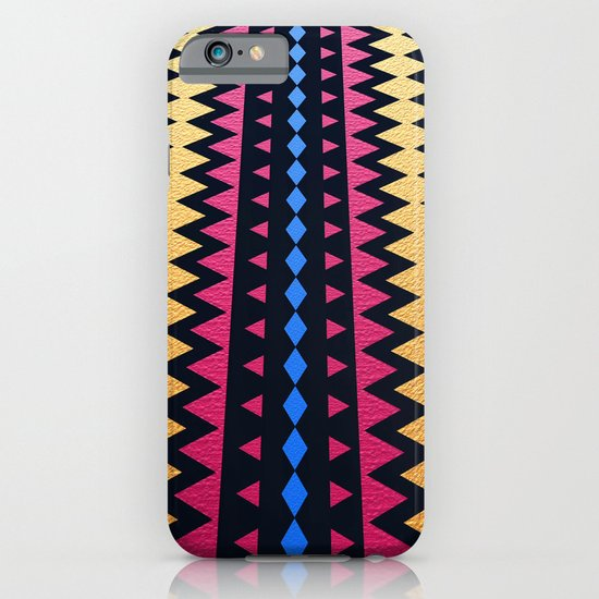 Aztec Pattern with Textured Appearance iPhone & iPod Case
