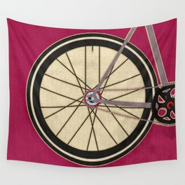 Single Speed Bicycle Wall Tapestry