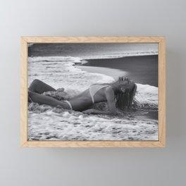 7410 Rachael playing Delray Beach Framed Mini Art Print