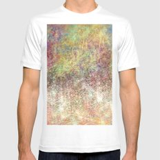 Lake of Sparkle Mens Fitted Tee MEDIUM White