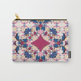 purple medalion in Persian tiles Carry-All Pouch
