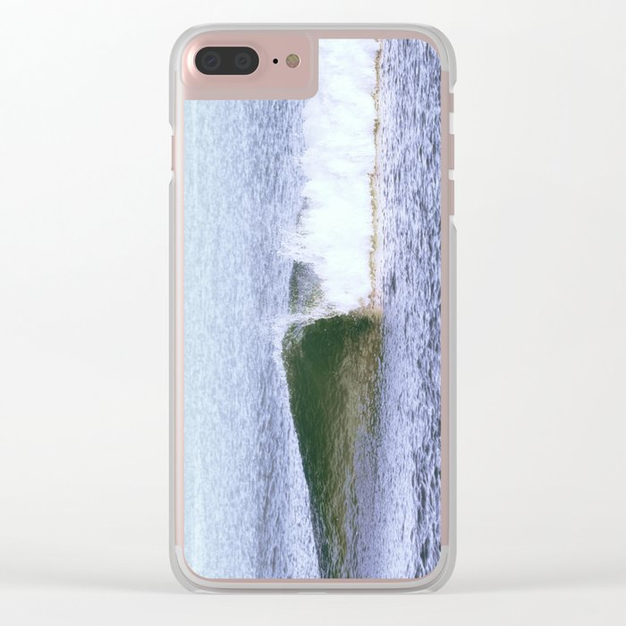 Lone Wave Clear iPhone Case