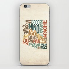 Arizona by County iPhone & iPod Skin