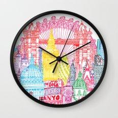 London Towers Wall Clock