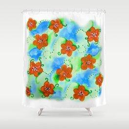 Flowers_103 Shower Curtain