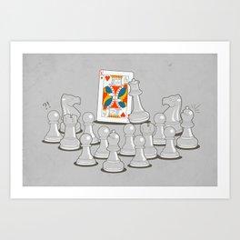 Wrong King Art Print