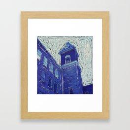 Mass MoCA Clocktower Framed Art Print
