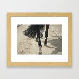 Footsteps Framed Art Print