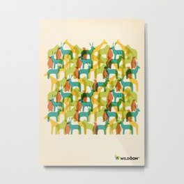 WILDÔOM PARTY ANIMALS Metal Print