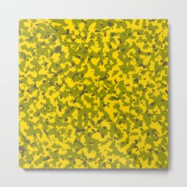 Military Camouflage Texture 9 Metal Print