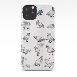 Pigeon Collection iPhone Case