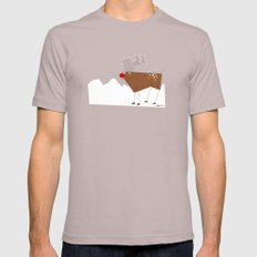 Reindeer Cinder Mens Fitted Tee SMALL