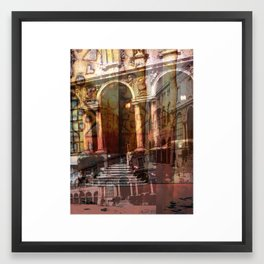 The Many Layers Of Milan 2 Framed Art Print