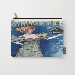 Vintage poster - Feuillantine Carry-All Pouch