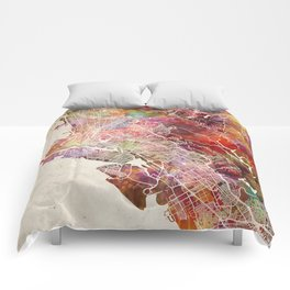 Oakland map Comforters