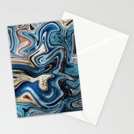 Calcite Marble Opal stone Stationery Cards