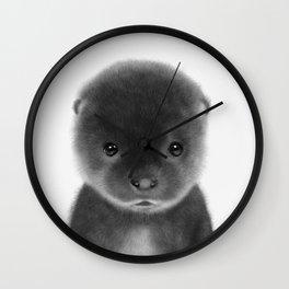 Cute Otter Wall Clock