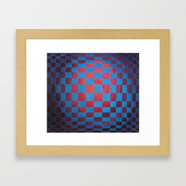 Tejido canvas II Framed Art Print