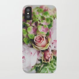Say it with flowers - Roses, Peonies & other loveliness iPhone Case