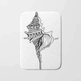 Shell design Bath Mat