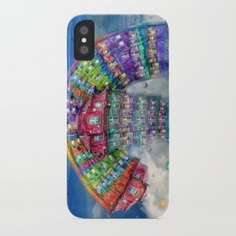 The Rainbowhouse ! iPhone Case