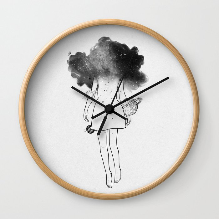 Disappear in yourself. Wall Clock