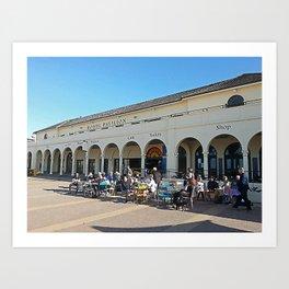 Bondi Surf Pavilion Art Print