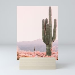 Vintage Cactus Mini Art Print
