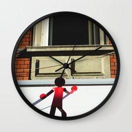 The spy | Mulhouse, France | Contemporary Street Photography  Wall Clock