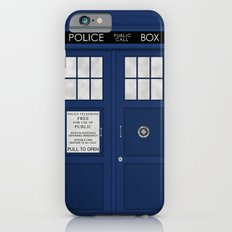Doctor Who's Tardis Slim Case iPhone 6