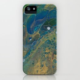 Peacock King iPhone Case